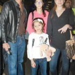 Chunky Pandey with his family