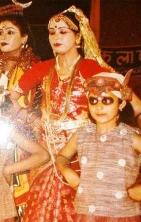 Divyanka Tripathi's Childhood Photo