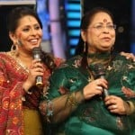 Geeta Kapoor with her mother