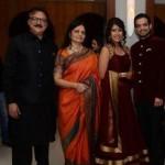 Karan Patel with his family