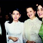 Karisma Kapoor with her family