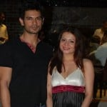Keith Sequeira with Ex-wife Samyukta Singh
