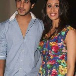 Kishwar Merchant with her husband Suyyash Rai