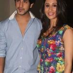 Suyyash Rai with his wife Kishwar Merchant