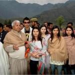 Lalu Prasad Yadav with his family