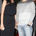 Manasi Parekh with her husband