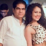 Neha Kakkar with her father