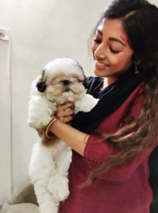 Paoli Dam loves dogs
