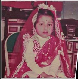 Paoli Dam's childhood picture