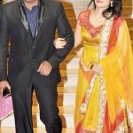 Prakash Raj with his wife