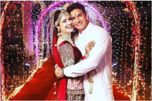 Prince Narula and Yuvika Chaudhary's wedding