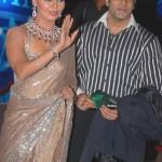 Rakhi Sawant with Ex-boyfriend Abhishek Awasthi
