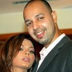 Rakhi Sawant with Ex-fiance Elesh Parujanwala