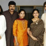 Ram Charan with his family