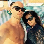 Richa Chadda with Franck Gastambide
