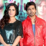 Richa Chadda with Nikhil Dwivedi