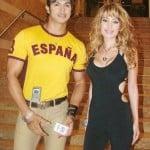 Sahil Khan with Negar Khan