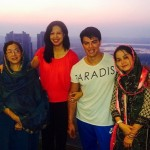 Sahil Khan with his family
