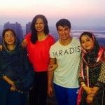Sahil Khan with his family