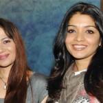 Samyukta Singh with her sister