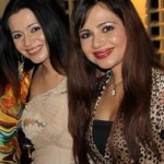 Samyukta Singh with her sister Nattasha