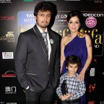 Sonu Nigam wifa and son