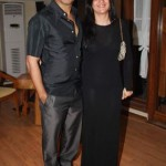 Vikas Bhalla with his wife