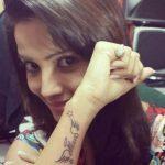 Adaa Khan Tattoo