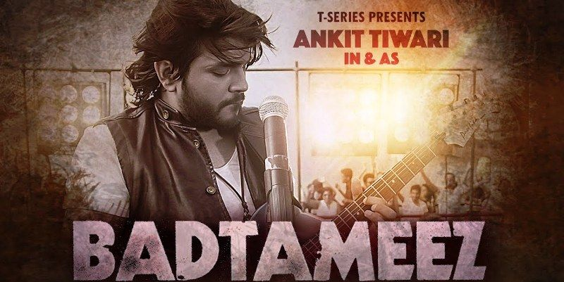 Ankit Tiwari in the Music Video- Badtameez