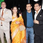 Boman Irani with his family