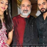 Kanwaljeet-Singh with his son Puneet & daighter-in-law Shilpa