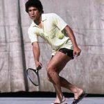 Sachin Playing Lawn Tennis
