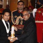 Sachin Tendulkar With Bharat Ratna