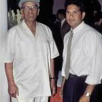 Sachin Tendulkar with Ramakant Achrekar