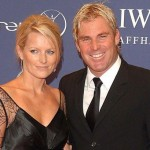 Shane Warne with his Ex-wife Simone Callahan