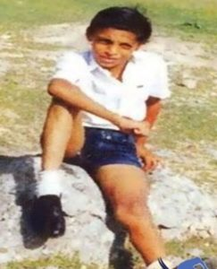 Shoaib Akhtar Childhood Photo