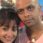 Tina Datta with Paresh Mehta