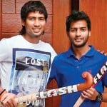 Yuvraj Walmiki with his brother