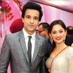 Aamir Ali with his wife