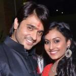 Archana Taide Sharma with husband