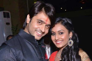 Ashish Sharma with his wife