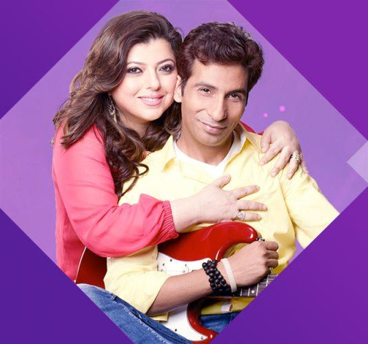 DJ Percy and Delnaaz Irani