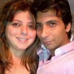 Delnaaz Irani with Percy Karkaria