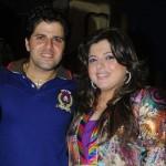 Delnaaz Irani with her brother Bakhtiyar