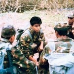"A still from TV serial ""Fauji"""