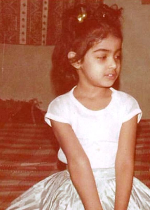 Genelia D'Souza's Childhood Photo