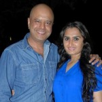 Naved Jaffery with his wife