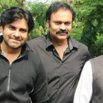 Pawan Kalyan with his brothers