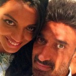 Rahul Dev with Mugdha Godse