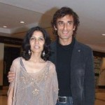 Rahul Dev with his late wife Rina